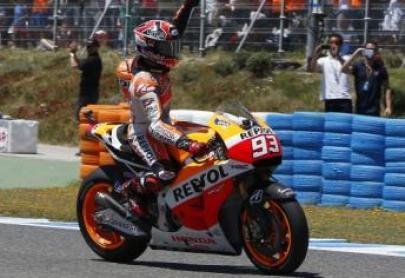 Marc Márquez renueva con Honda
