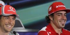 Fernando Alonso y Jenson Button, dominadores en FP1 y FP2/ lainformacion.com/EFE